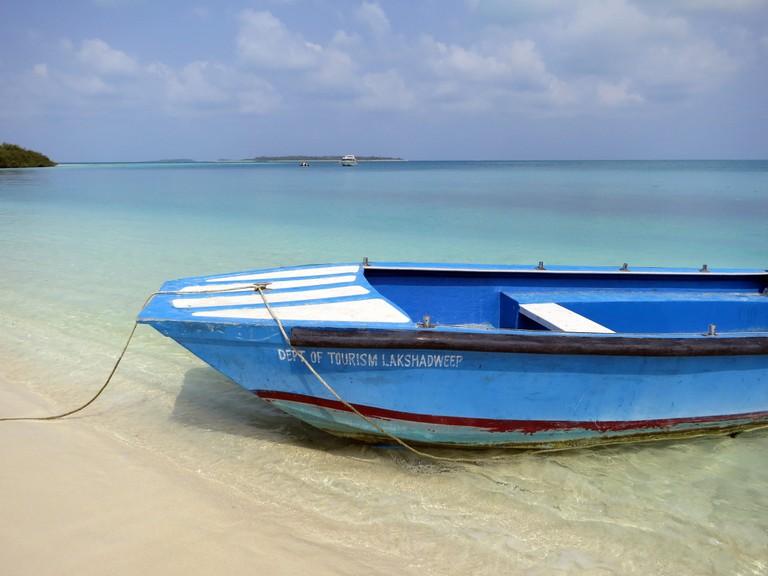 Lakshadweep boasts pristine beaches and fantastic marine life