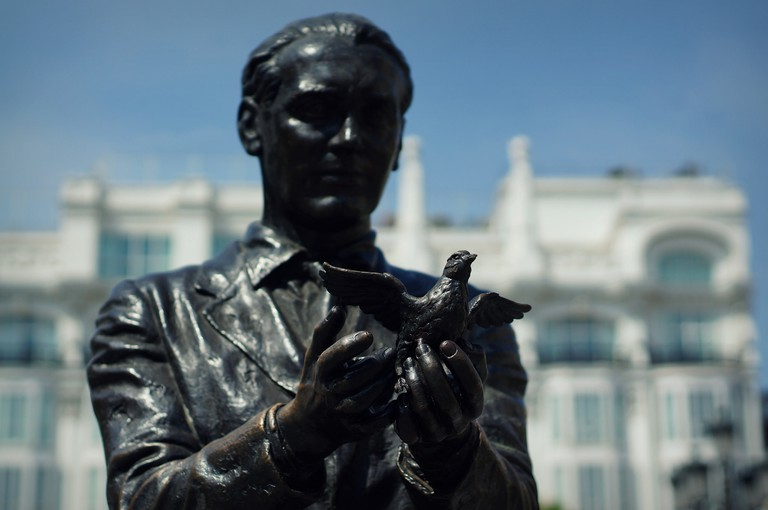Staue of Federico Garcia Lorca in Madrid   ©Guillaume Flament / Flickr