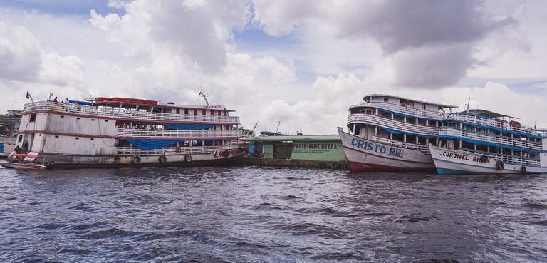 Amazon River Boats