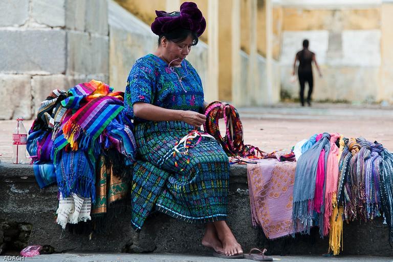 Mayan markets in Antigua