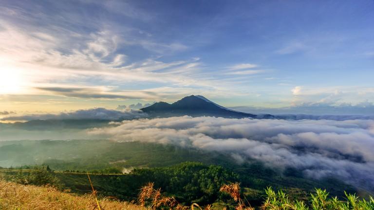 Kintamani from Mount Batur, Bali