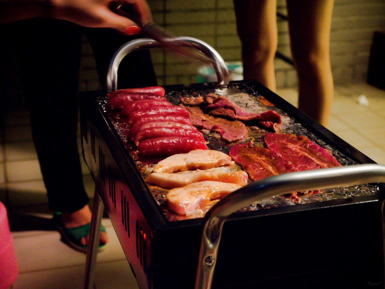 A meat feast for Moon Festival