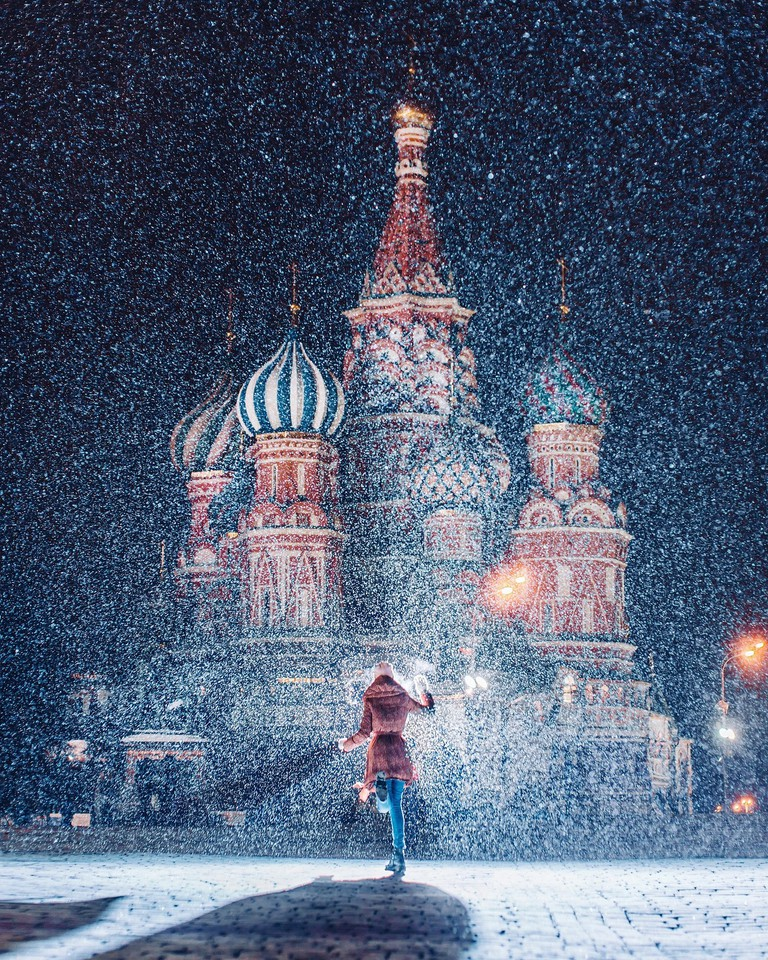 St.Basil's Cathedral in winter I