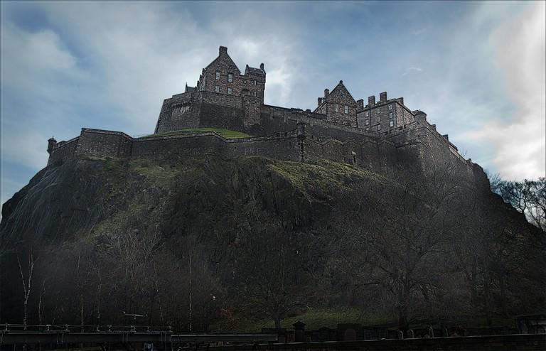 Edinburgh Castle In January   © dun_deagh/Flickr