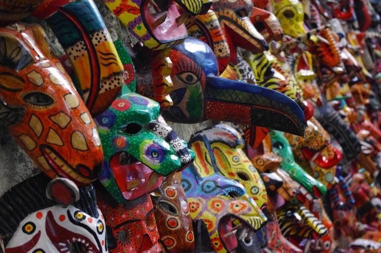 Antigua masks
