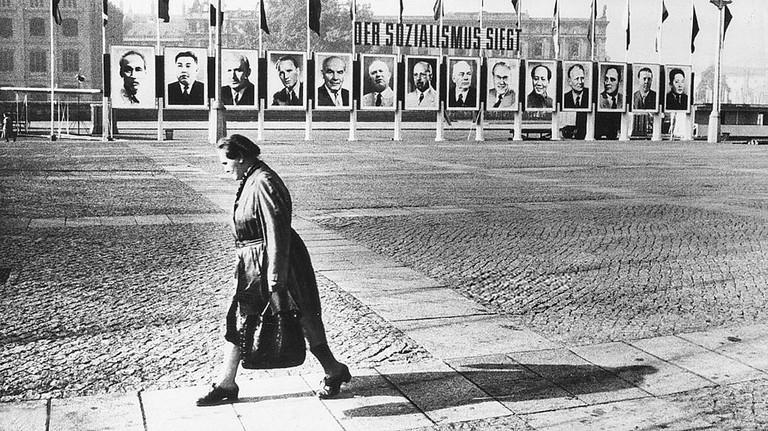 A street in East Berlin