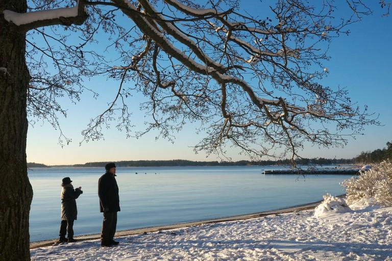 Lake in Espoo