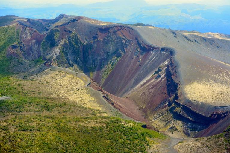 Mt Tarawera, New Zealand
