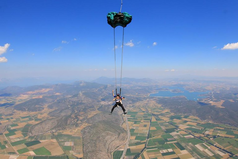 Courtesy of Skydive Athens