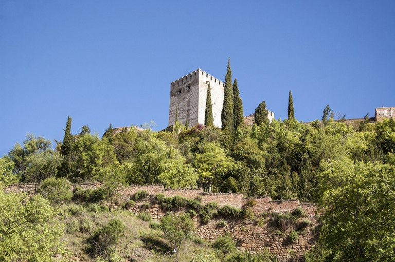 The hillside beneath Granada is home to a network of secret tunnels; Juan Luis, flickr