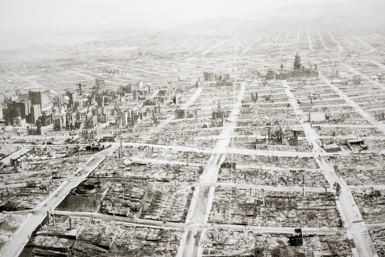 San Francisco post-1906 earthquake
