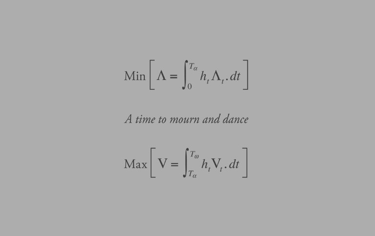 A time to mourn and dance