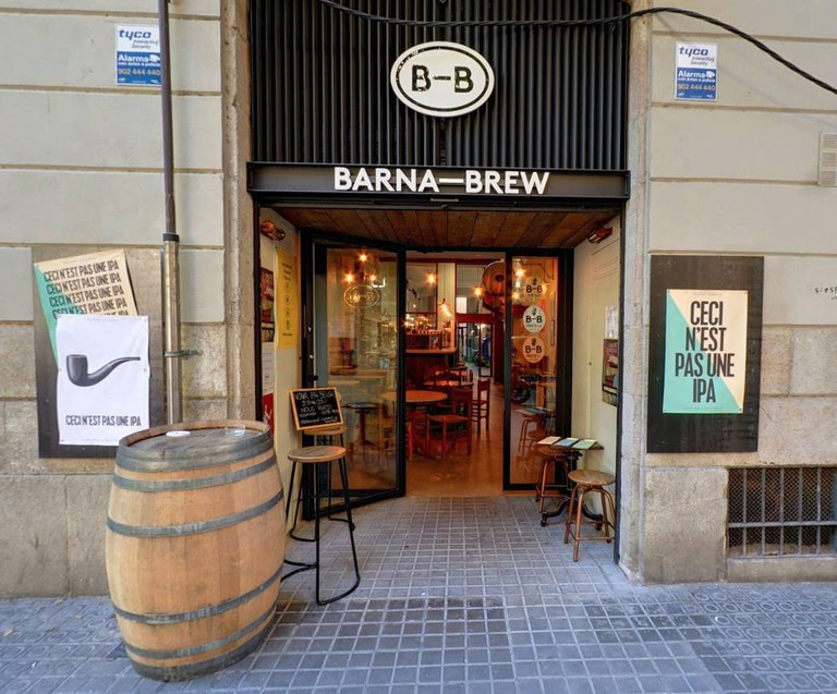 The BarnaBrew Brew Pub on Parlament Street Courtesy of BarnaBrew