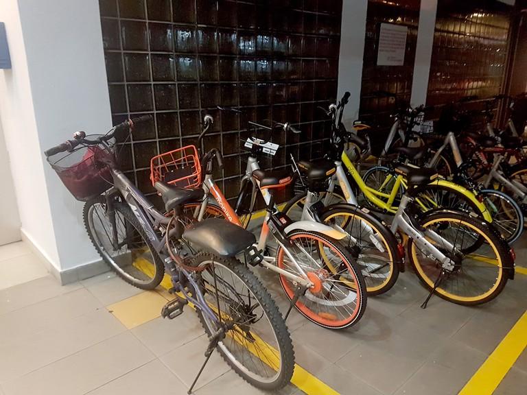 Designated Bike Parking Areas in Singapore