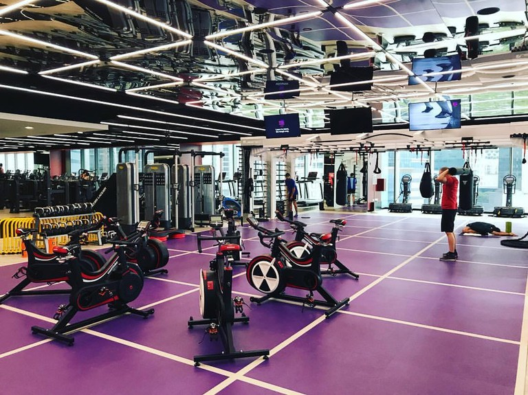 View of Virgin Active Singapore