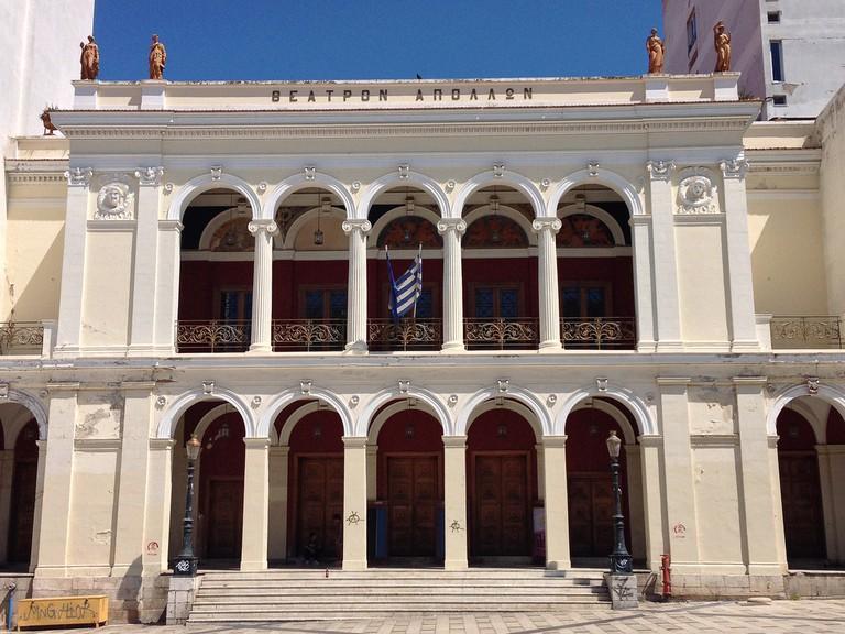 Apollon Theatre, Vasileos Georgiou sq., Patras