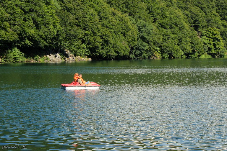 Lots of local lakes have pedalos and canoes to hire
