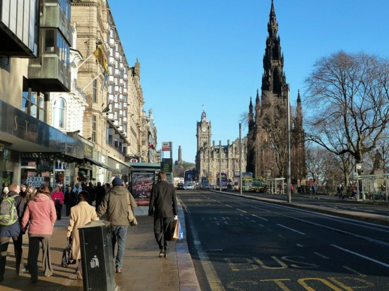 Princes Street c.2010 | © Mary and Angus Hogg/Geograph