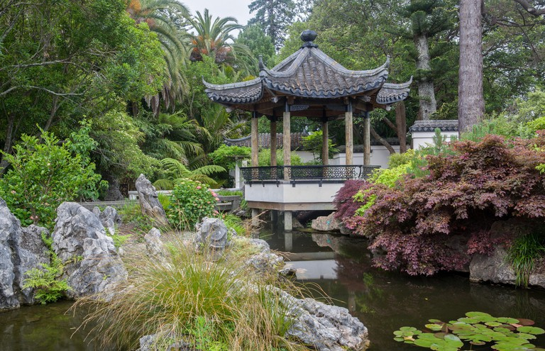 Chinese Pavillon at the Queen's Gardens in Nelson
