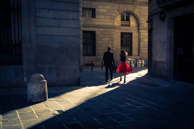 A little calm returns to the city © Enric Fradera