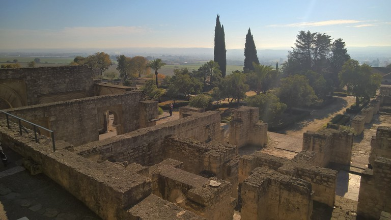 Stunning views from from the top of Medina Azahara