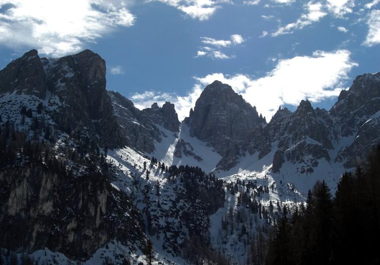 The Austrian Alps