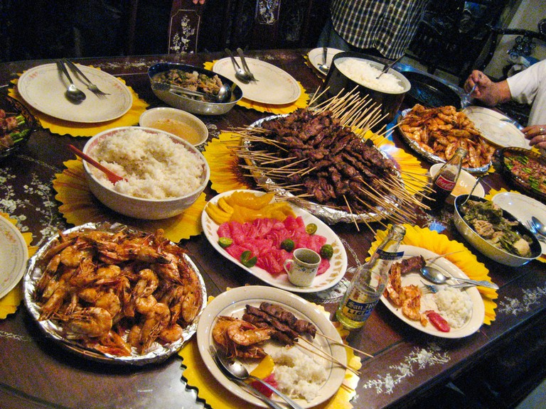 Typical Filipino Meal