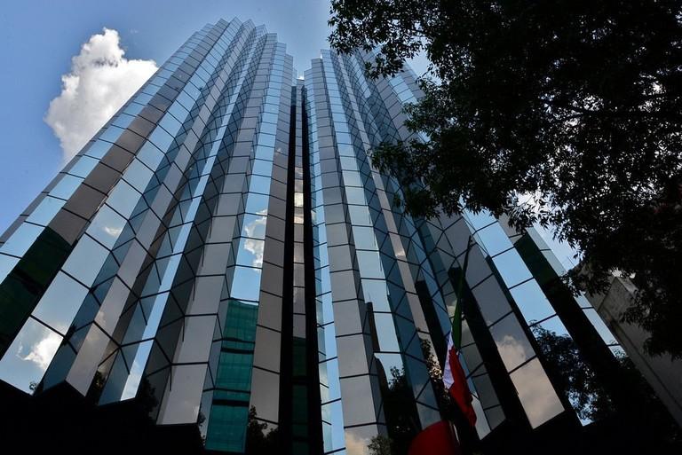 Mexico City skyscrapers / flickr