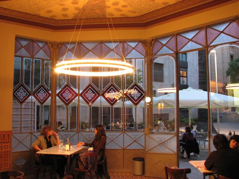 The café of the Can Deu Civic Centre © marimbajlamesa
