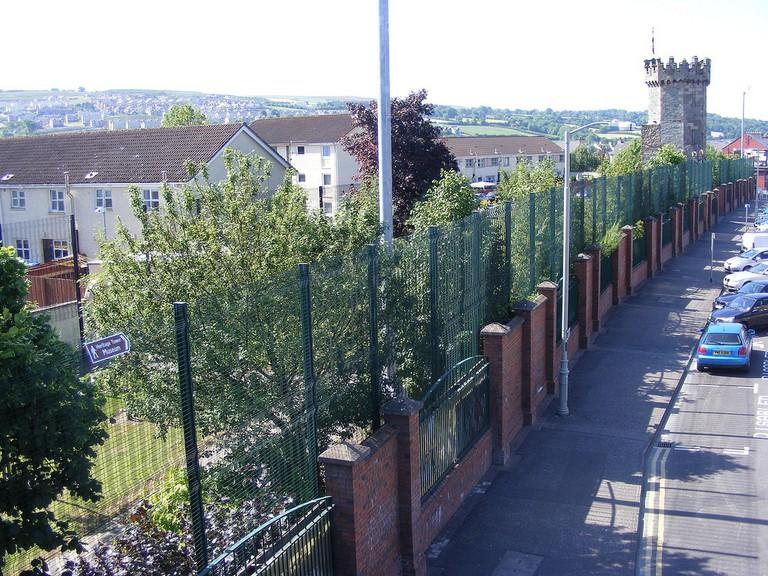 Derry Peace Line