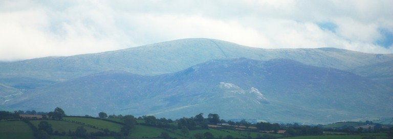 A view of the Mourne Mountains from Tandragee