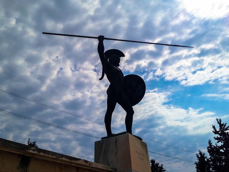 Statue of Leonidas, Thermopylae