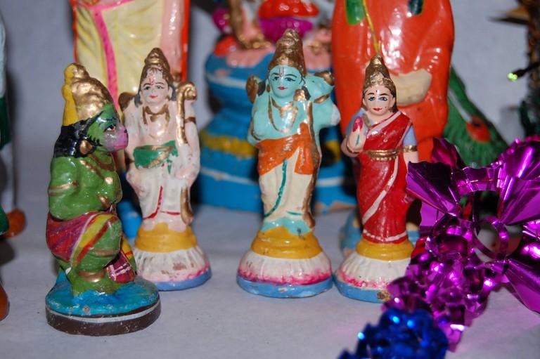 Lord Rama and Lord Hanuman