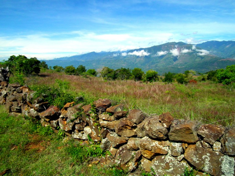 The trail from Barichara to Guane