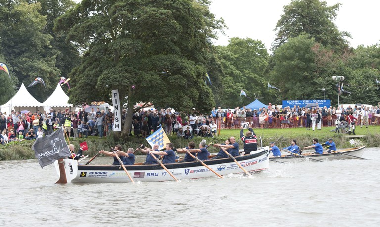 © John Percival/Courtesy of The Great River Race