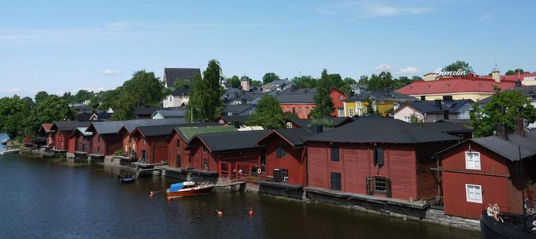 Porvoo boathouses