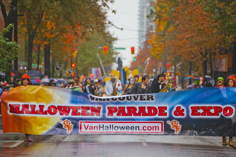 Scenes from the 2016 parade