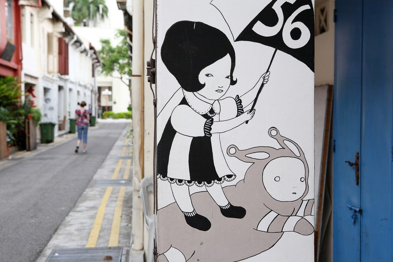 Wall Mural in Singapore