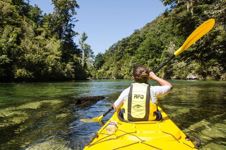 Sea Kayaking Around Abel Tasman National Park