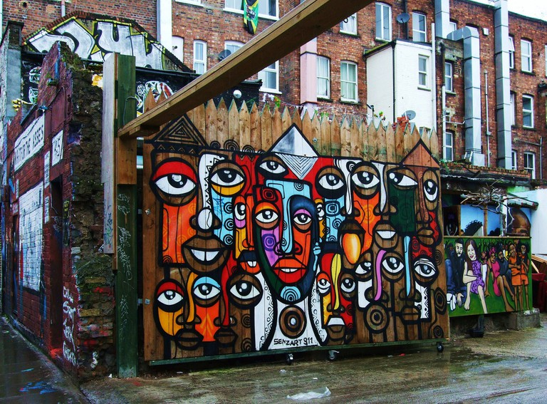 Graffiti on Hanbury Street