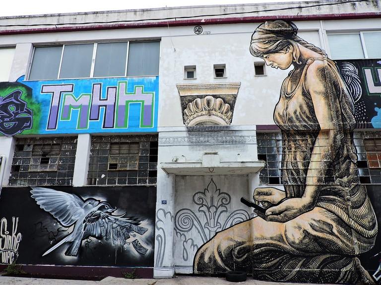 Street art in Votanikos, Athens