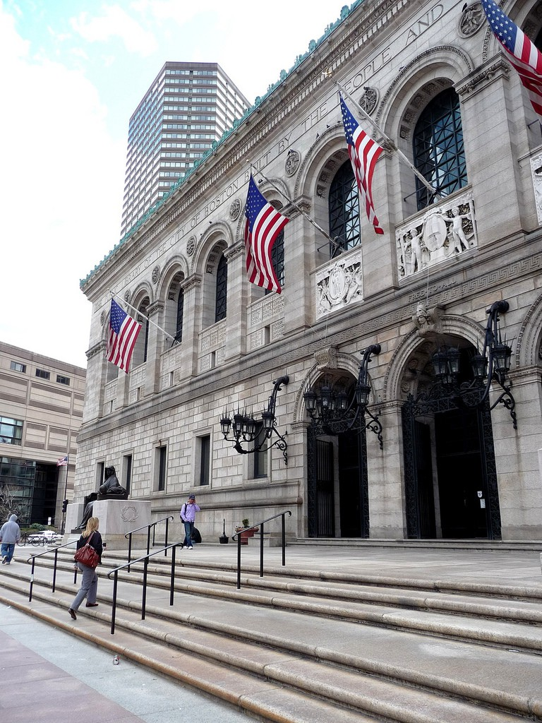 Boston Public Library |© Isaac Wedin/Flickr