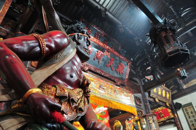 Protecting Matsu at Matsu Temple