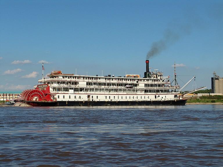 Steamboat in St. Louis