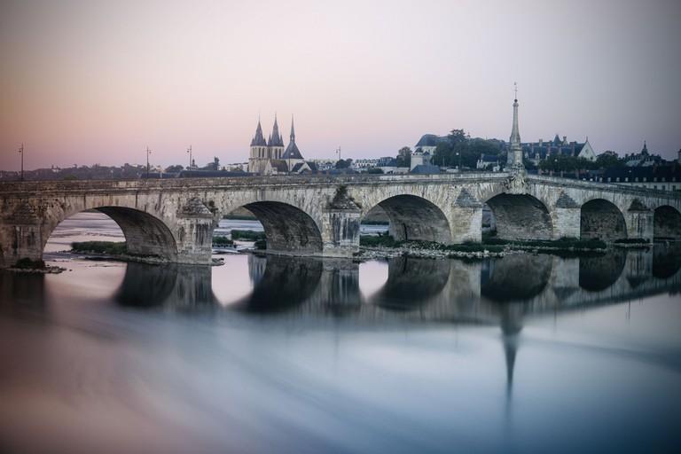 The Loire flowing past Blois