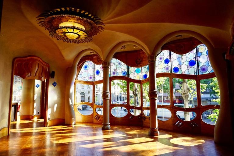 Inside the Casa Batlló © Blair-39