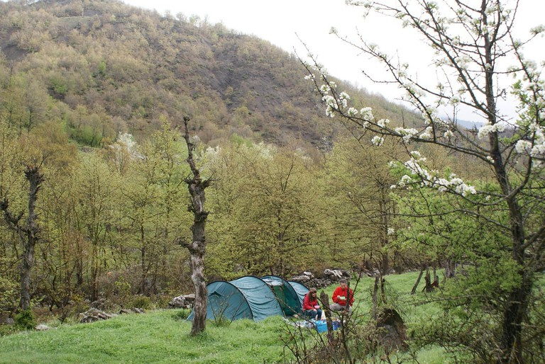 Camping in the wild in Epirus