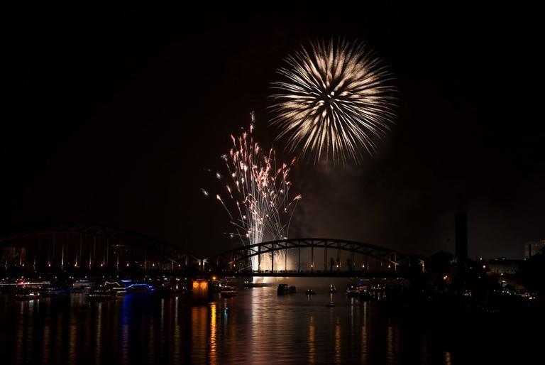 Kölner Lichter fireworks