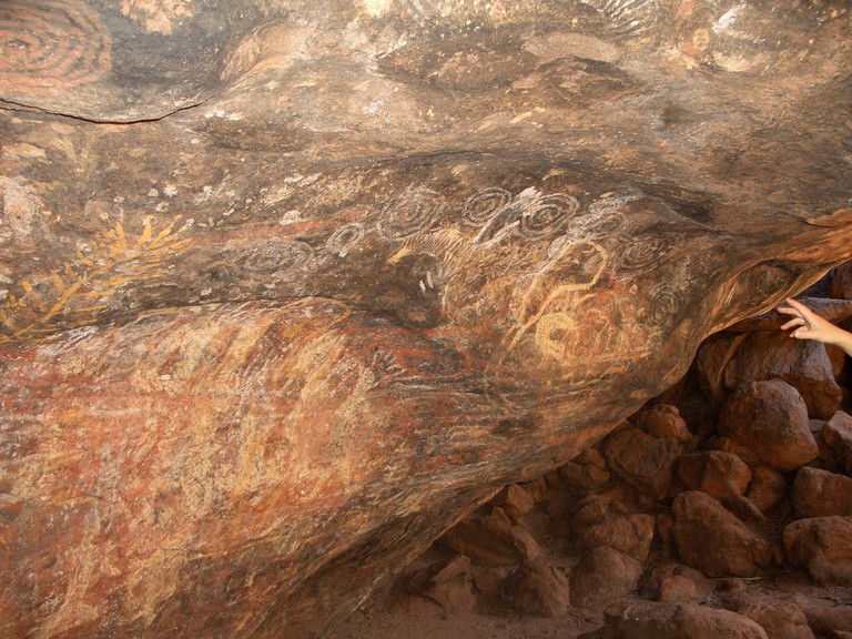 Walk around Uluru