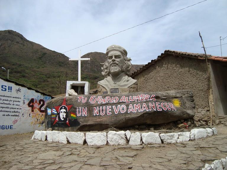 Che Guevara, Bolivia, Valle Grande